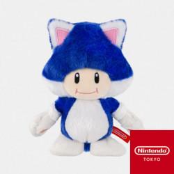 Plush Keychain Neko Toad Super Mario