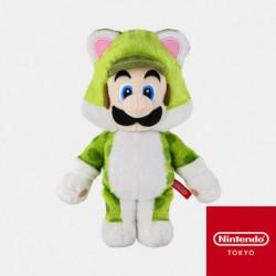 Plush Keychain Neko Luigi Super Mario