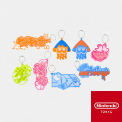 Keychain Collection Splatoon INK YOU UP