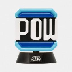 Figure POW Block Super Mario Character Light