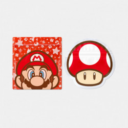 Zipper Bag Mario Red Mushroom Super Mario Home and Party
