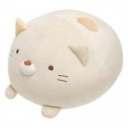 Plush Cushion Super Mochi Mochi Daifuku Neko Sumikko Gurashi