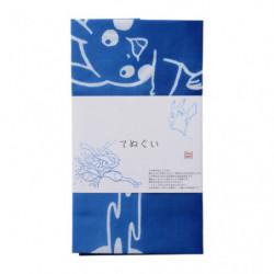 Hand Towel Tenugui Greninja and Pikachu NINJA SHUGYO