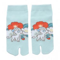 Socks Two fingers Alolan Vulpix Pokémon Harunatsu Akifuyu