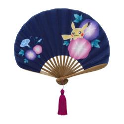 Folding Fan Pikachu to Asagao Pokémon Harunatsu Akifuyu