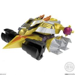 Figures Gaiki Dino Spartan And Gougetsu Set Crush Gear Turbo  SMP