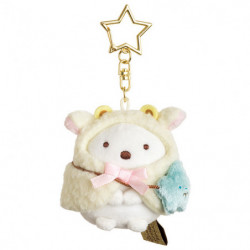 Plush Keychain Shirokuma Aries Zodiac Sumikko Gurashi