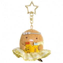 Plush Keychain Tonkatsu Gemini Zodiac Sumikko Gurashi
