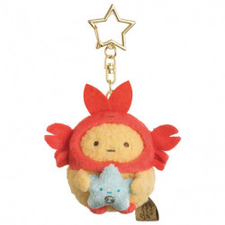 Plush Keychain Ebi Furai No Shippo Cancer Zodiac Sumikko Gurashi