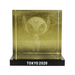 Someity Sculpture Crystal Gold Tokyo 2020 Olympics