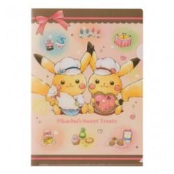 A4 Clear File Pikachu s Sweet Treats japan plush