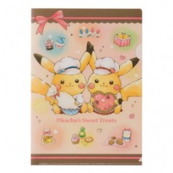 A4 Pochette Transparente Pikachu s Sweet Treats japan plush