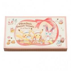 Memo Note Pikachu s Sweet Treats japan plush
