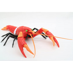 Figure Unit 2 American Crayfish Evangelion Edition No.242 Plastic Model