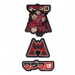 Stickers SECRET TEAMS Magma japan plush