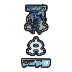 Stickers SECRET TEAMS Aqua japan plush