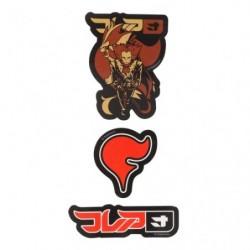 Stickers SECRET TEAMS Flair japan plush
