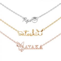 Necklace Customizable U Treasure K18