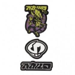 Stickers SECRET TEAMS Skull japan plush