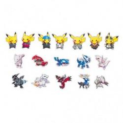 Stickers Pikachu Member RR japan plush