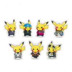 7 Clip Pikachu Member RR japan plush