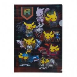 Clear File Pikachu Member RR japan plush