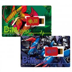 Dim Card Set vol.03 Hermit in the Jungle and Nu Metal Empire Digimon