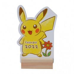 Desktop Die Cut Calendar Pikachu Pokémon 2022