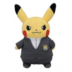 Peluche Pikachu Boss Member Rocket RR japan plush
