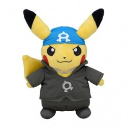 Plush Pikachu Boss Member Aqua RR japan plush