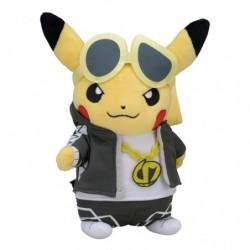 Plush Pikachu Boss Member Skull RR japan plush