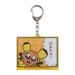 Keychain Dedenne Pokémon Bkub Okawa Collection