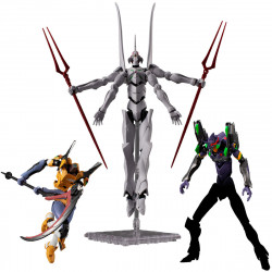 Figures  Q Final Battle Set Evangelion New Theatrical Version EVA FRAME