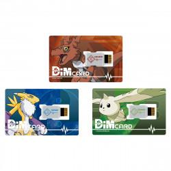 Dim Card Set EX2 Guilmon Terriermon Renamon Digimon