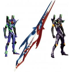 Figure Unit 1 And Unit 13 Spear of Gaius EVOLUTION EV21 Evangelion