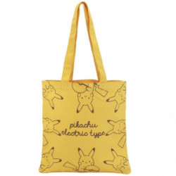 Tote Bag Yellow Electric Type