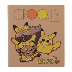 Sketchbook SQ CROQUIS Pikachoose