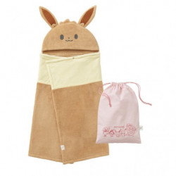 Hooded Bath Towel Drawstring Bag Set Eevee Monpoké