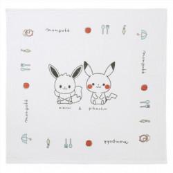 Bath Towel Pikachu And Eevee Monpoké
