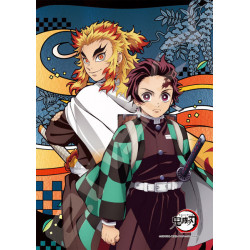 Jigsaw Rengoku Kyojuro and Tanjiro Kamado Kimetsu No Yaiba