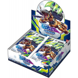 Next Adventure Display Digimon Card BT-07