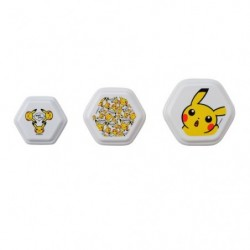 Hexagon Sticker Box Pikachu Living & Dining japan plush