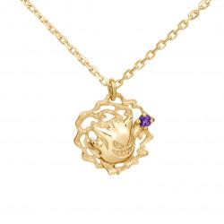 Necklace Gengar Yellow Gold Pokémon U Treasure K18