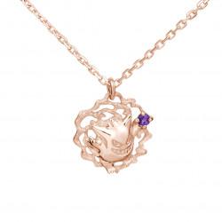 Necklace Gengar Pink Gold Pokémon U Treasure 18K