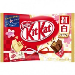 Kit Kat Mini Red & White japan plush