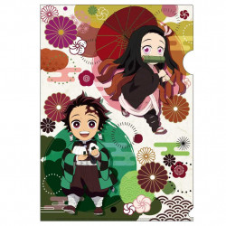 Clear File Vol. 1B Nezuko And Tanjiro Kimetsu No Yaiba