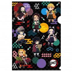Clear File Vol. 1A Gathering Pattern Kimetsu No Yaiba
