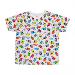 T Shirt PAINT Full Pattern Color M Pokémon and Tools