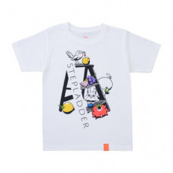 T Shirt STEPLADDER Logo Blanc M Pokémon and Tools