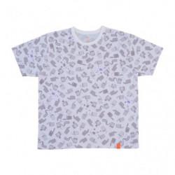 T Shirt PAINT Motif Complet Blanc M Pokémon and Tools